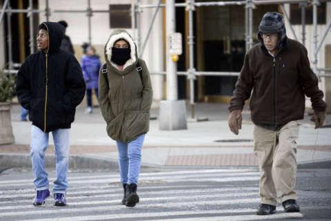 Brrrrrrrutally cold temps hit DC area on Thursday