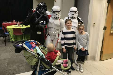 'Star Wars' bad guys brighten the holidays for kids with cancer