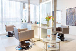 The hair salon is one of the features at as spa located at MGM National Harbor.  (Courtesy MGM National Harbor)