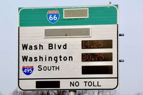 What happens to I-66 tolls when it snows?