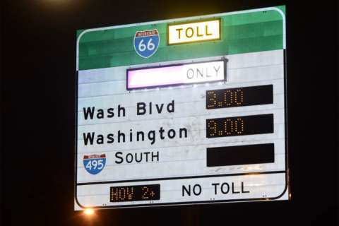 How will I-66 toll cheaters be caught?