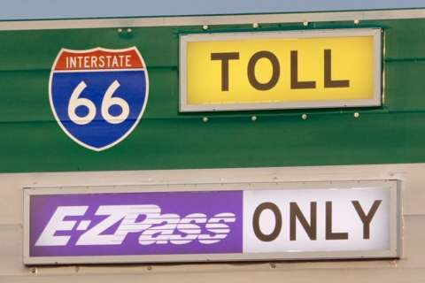 I-66 toll lane construction to completely close bridge near Vienna Metro
