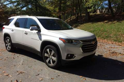 Car Review: Maximum space in a midsize crossover?  The 2018 Chevrolet Traverse has plenty of room