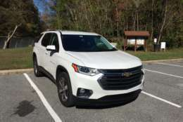 For 2018, Chevy has decided it's time to really get competitive in the midsize crossover class. (WTOP/Mike Parris)