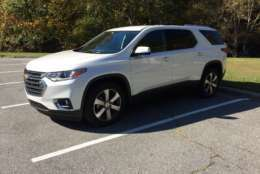 The Traverse remains one of the largest midsize crossovers on the market. (WTOP/Mike Parris)