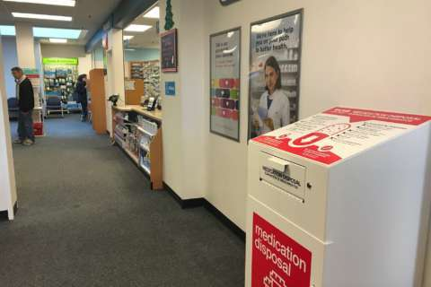 Opioid drop-off locations set up at DC pharmacies