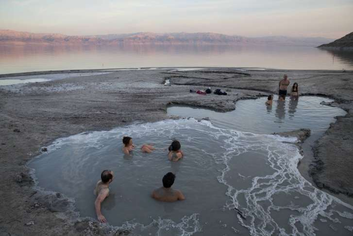 ap photos lingering drought threatens holy land s waters wtop  holy land drought photo essay 26530 in this friday nov 24 2017 photo people enjoy a spring water pool along the dead sea shore near the i