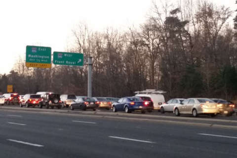 SB lanes on Va. 28 reopened after officer struck while directing traffic