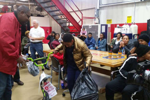 Christmas cheer for families displaced by Prince George's Co. apt. fire