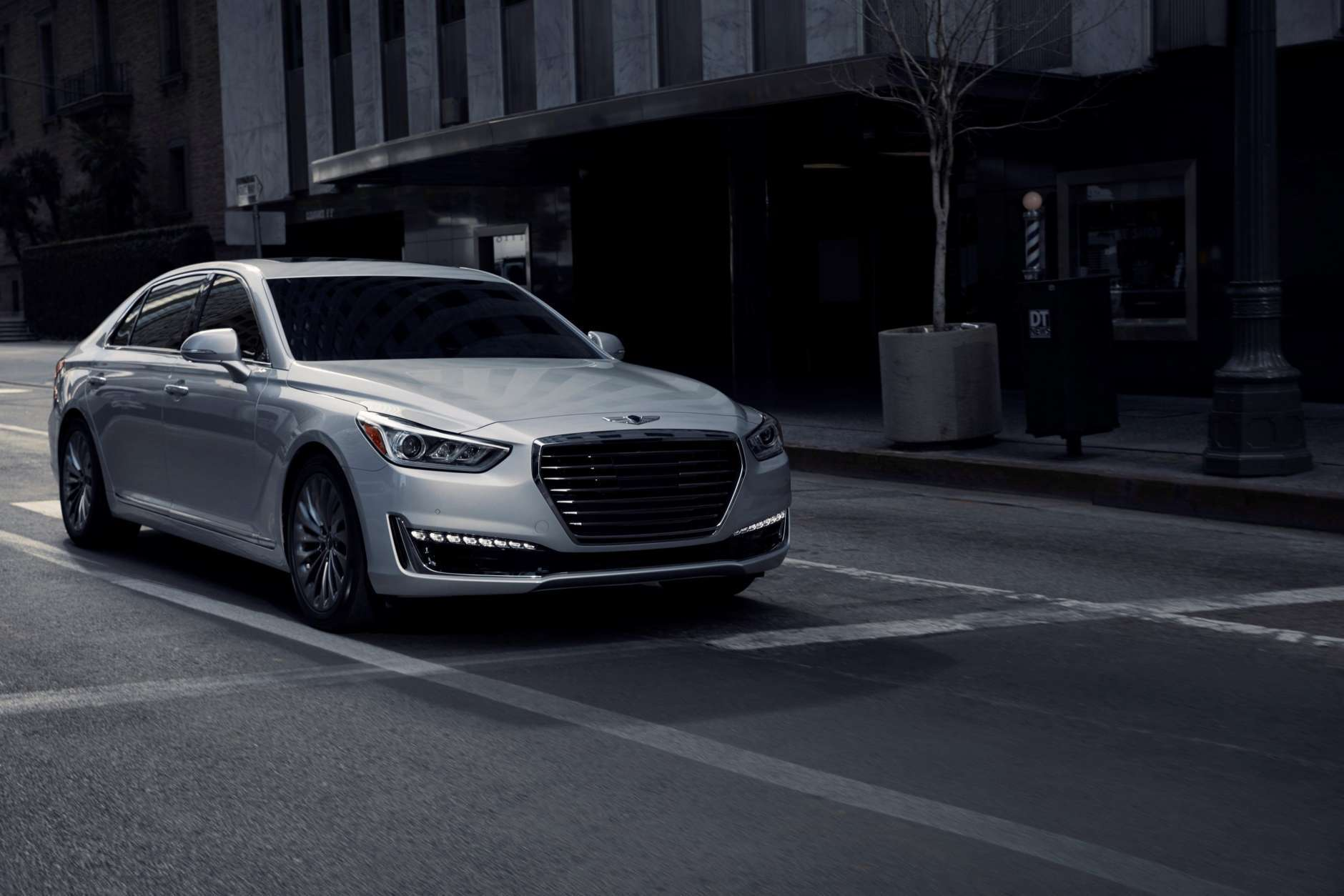 The Genesis G90 also picked up a Top Safety Pick+ award. (Courtesy Genesis)
