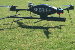 The drone has features not found on drones available for commercial purchase, including infrared video for finding someone during night time hours. (Courtesy Loudoun County Sheriff's Office)