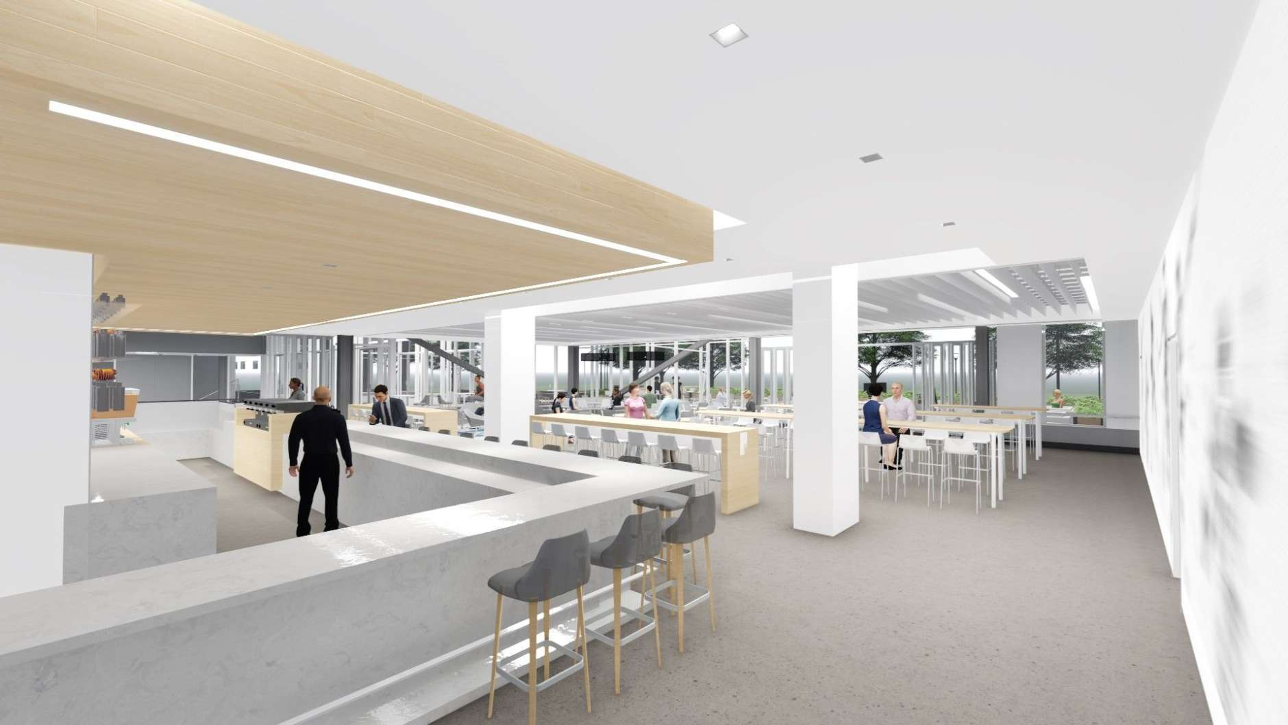 """Celebrity D.C. chef and """"Top Chef"""" contestant Spike Mendelsohn is working on a concept for a new restaurant. (Courtesy HKS Architects)"""