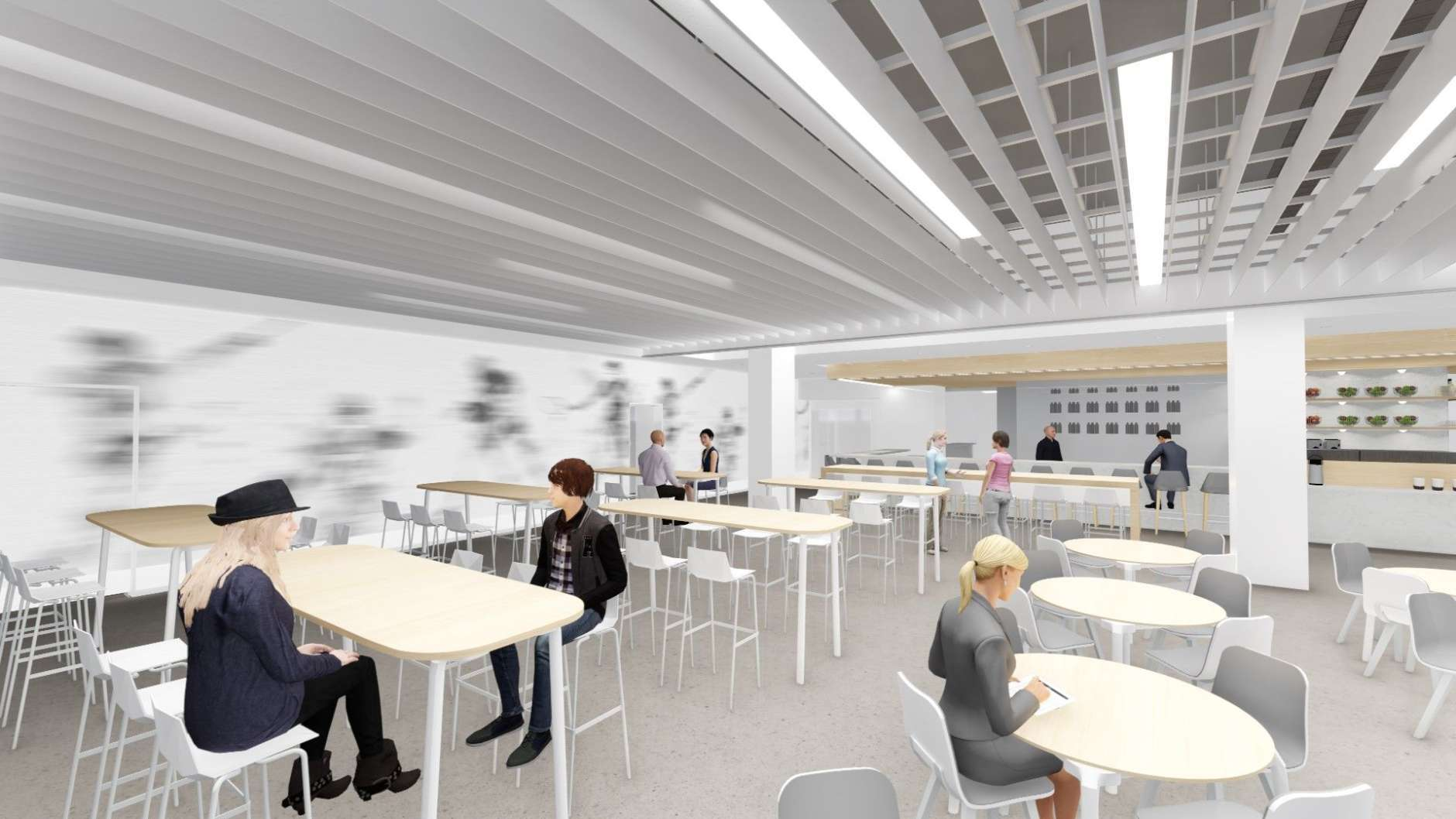 Mendelsohn's restaurant at The St. James will be open to both members and the public. (Courtesy HKS Architects)
