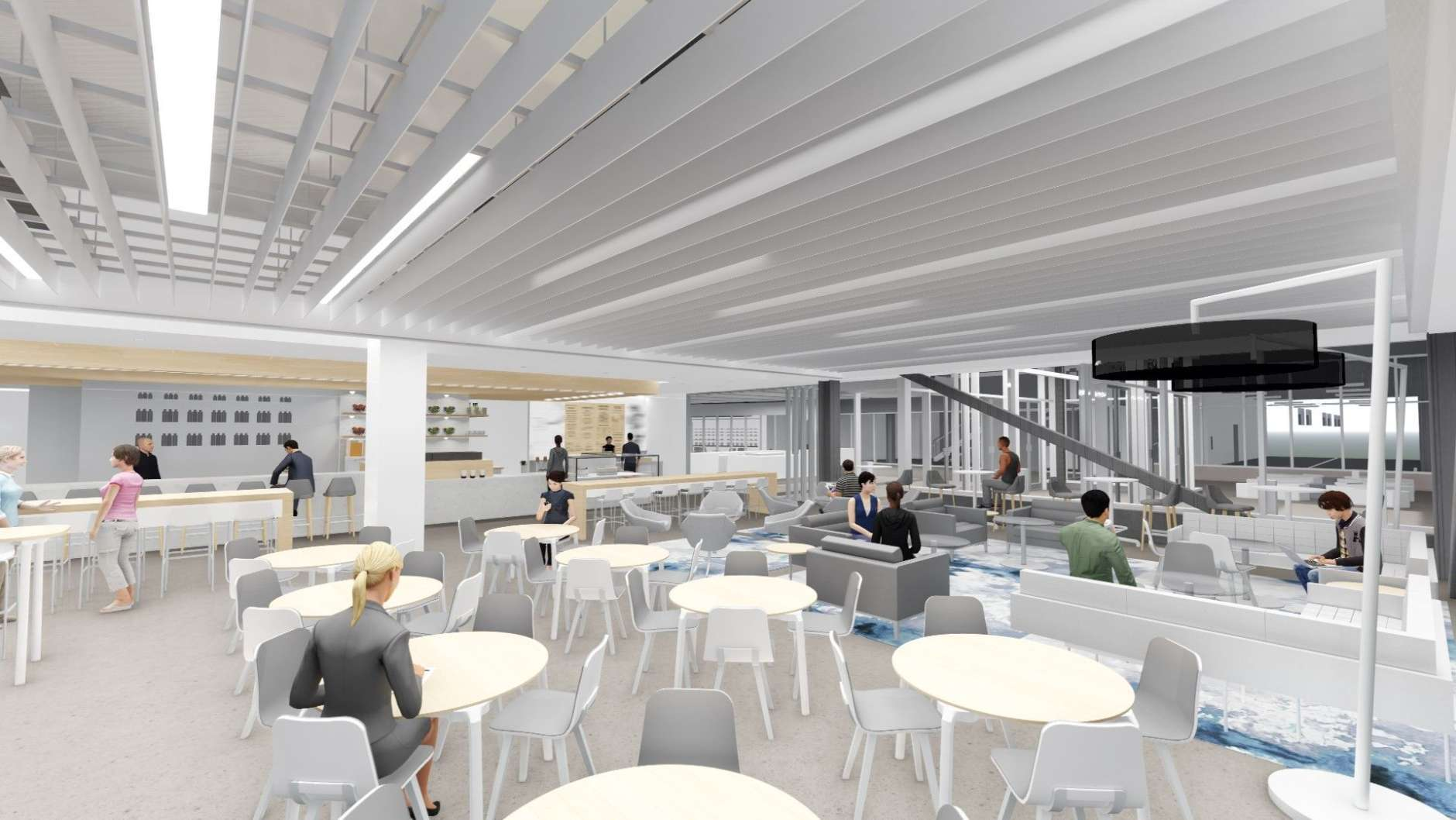 """""""I'm passionate about creating healthy foods that not only taste good, but also will meet the needs of people of all ages leading very active lives,"""" Mendelsohn said in a statement. (Courtesy HKS Architects)"""