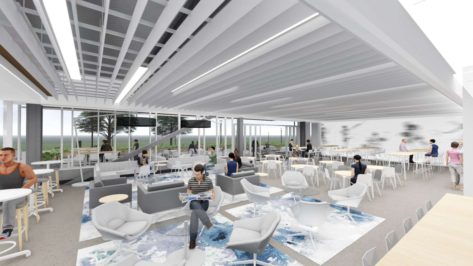 """""""Our new concept at The St. James gives me the opportunity to fulfill my passion to help active people meet their high demand needs,"""" Mendelsohn said. (Courtesy HKS Architects)"""