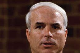 U. S. Sen John McCain shown in 1986. (AP Photo)