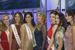 Miss World 2016 and contestants at MGM National Harbor. (Courtesy MGM National Harbor)