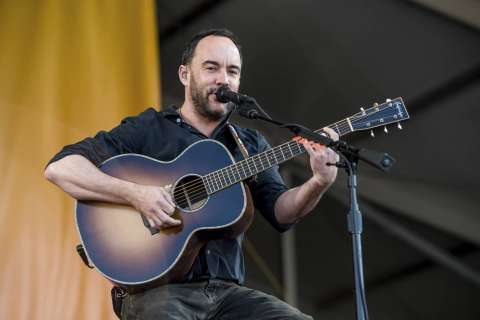 Dave Matthews Band 2019 summer tour will include a stop in Va.