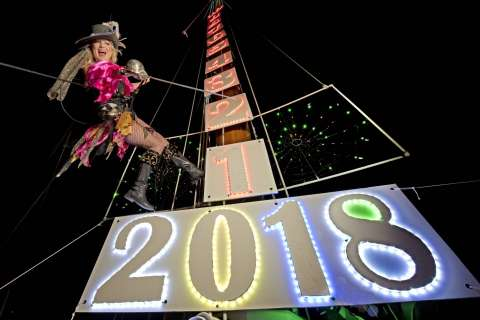 Photos: People ring in 2018 across the world