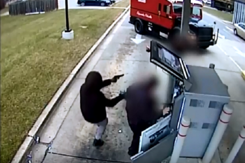 Armored truck guards robbed at gunpoint at Prince George's Co. ATM (Video)