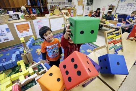 DC leads nation in early education investment; Md. and Va. trail