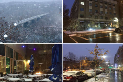 So it begins: DC area gets hit with first blast of winter weather