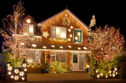this content is sponsored by ackerman security its that time of year when you decorate your house for the holidays with lights and other decorations