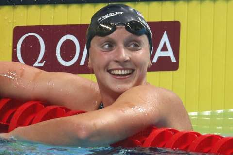 Five-time Olympic champion Katie Ledecky turns pro