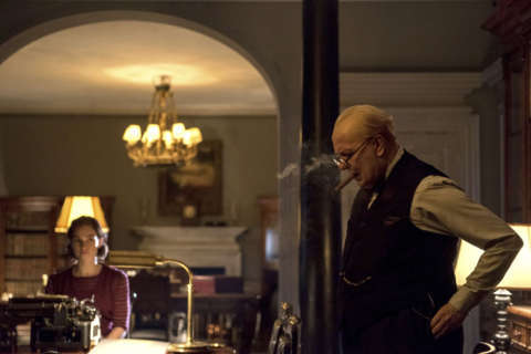 Movie Review: 'Darkest Hour' marks Gary Oldman's finest hour as Churchill