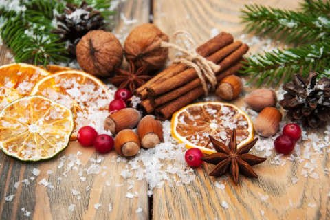 Spice up the holidays, because it's good for you