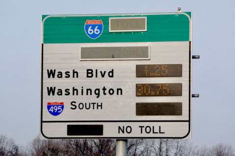 I-66 afternoon tolls moderate after 'unfair' $40 morning high