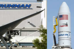 The Federal Trade Commission has requested additional information from Falls Church-based Northrop Grumman and Dulles-based Orbital ATK Inc. regarding their planned $9.2 billion merger. (FILE/Associated Press)