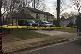 Photo shows a home in Reston where 2 people were shot