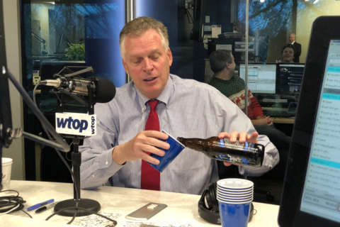 Governor of beer: McAuliffe shares gubernatorial stout during WTOP visit