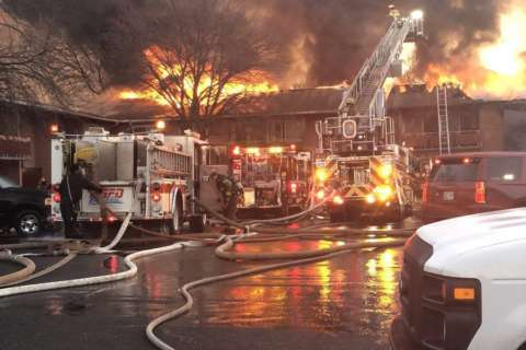 Cause undetermined in $200K Pr. George's Co. apt. complex fire