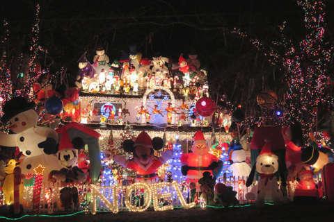 Best Christmas lights displays in Virginia