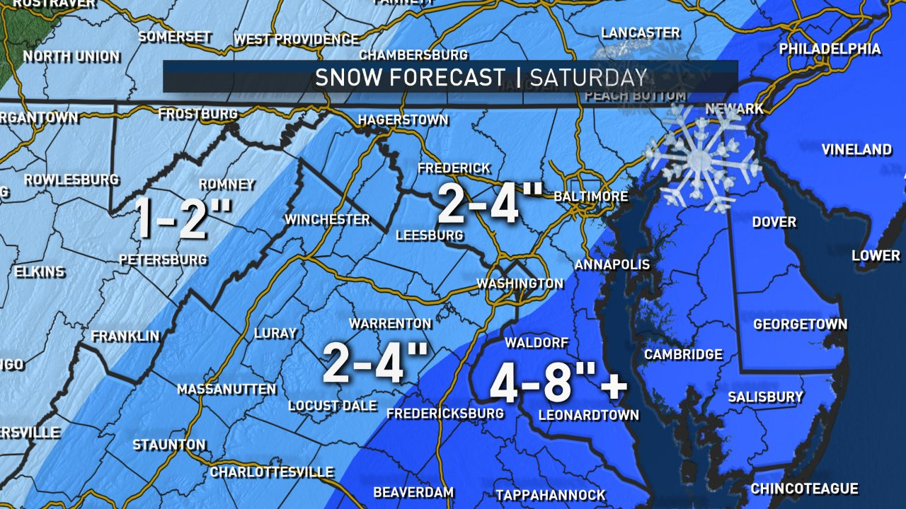 So It Begins Dc Area Gets Hit With First Blast Of Winter Weather