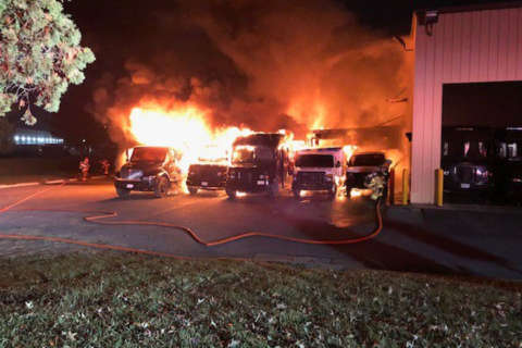 Packages damaged after UPS building catches fire in Frederick County