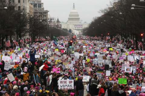 Women's March gets a location change amid shutdown