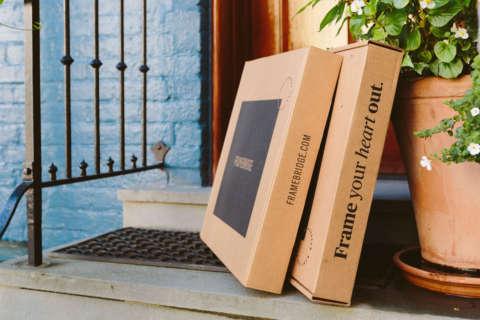 Online custom frame company Framebridge shuts down Lanham shop
