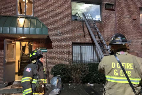 Man critical, families displaced after Southeast apartment fire