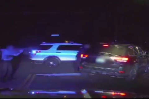 Video: Multiple shots fired at moving SUV in fatal Park Police traffic stop