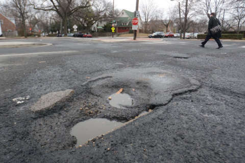 'More paving than ever before' — DC addresses record potholes