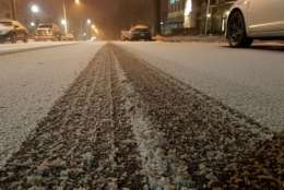 Thursday's commute is looking icy and ugly. (WTOP/William Vitka)