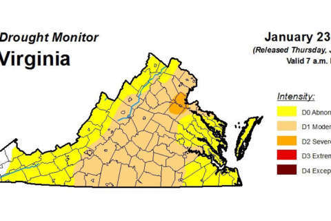 Northern Va. drought worsens amid snowless, rainless winter