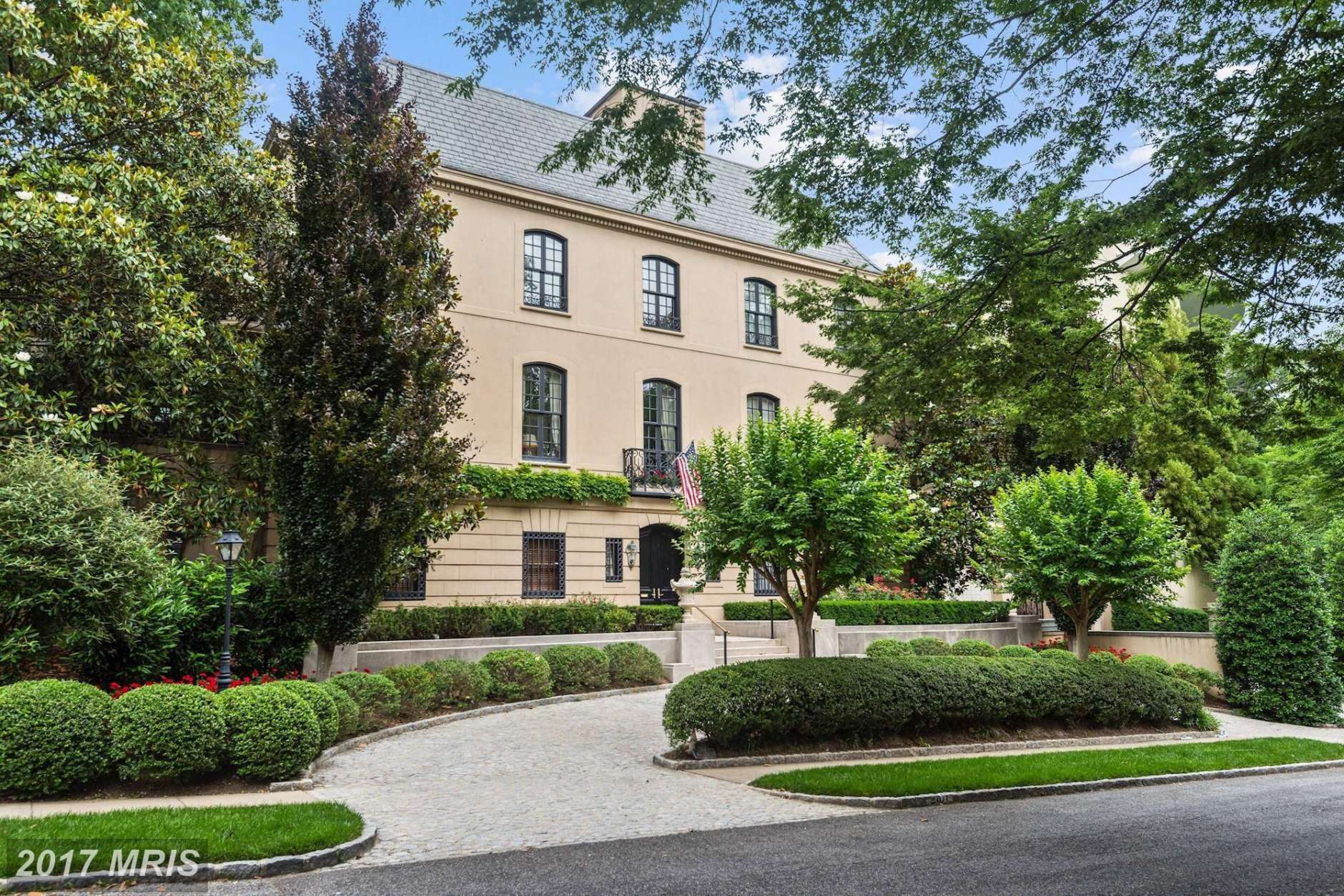 2. $14,000,000  2817 Woodland Drive NW Washington, D.C.   The federal style residential estate was built in 1962. It includes seven full baths, and seven bedrooms.   (Courtesy Bright MLS)