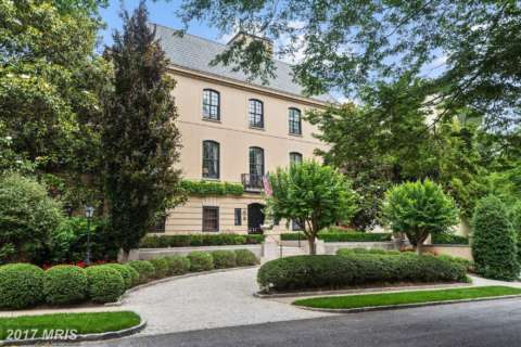 2017 most expensive DC-area home sales: $35M mystery mansion tops list