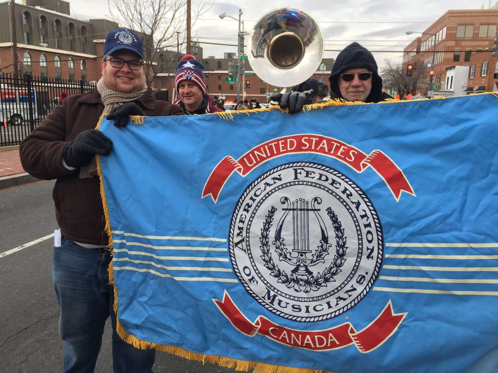The Musicians's Union at the MLK Peace Walk and Parade. (WTOP/Kristi King)