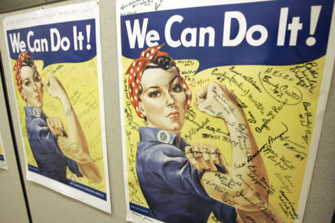 Naomi Parker Fraley, called inspiration for Rosie the Riveter, dies at 96