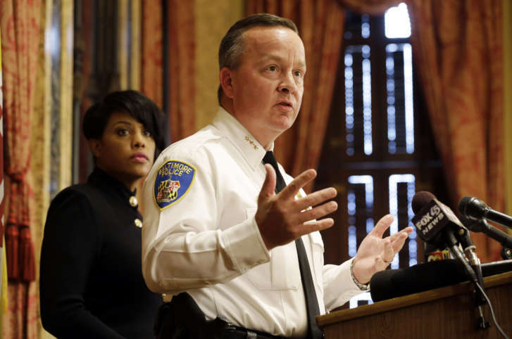 Kevin Davis is new Baltimore police commissioner